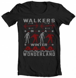 Walking Dead Ugly Christmas Sweater T-shirt