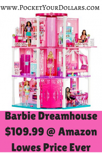 Amazon Barbie Dream House 10999