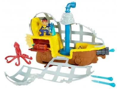 never land pirates rolling submarine