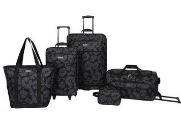 If you ve been searching for a good deal on luggage, take a look at this  one. ' Kohls.com has this ' Prodigy Luggage, Mayfair 5-Piece Expandable  Spinner ... e9d74b2636