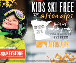 Twin Cities Deals: Kids Ski Free at Afton Alps, Free Ice Skating, Free Christmas Movie + More