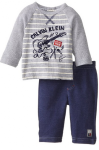 342a1337c526 Calvin Klein Baby-Boys Stripe T-Shirt with Pull-On Pant  11.35 (originally   44.50 – 74% off)