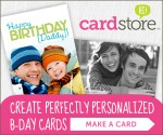 Cardstore.com: Custom Greeting Card $1.99 + Free Stamp = Great Christmas Gift Thank You Cards (Exp. 1/12)