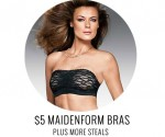 OneHanesPlace Women's Underwear Sale: $5 Maidenform Bras + 99Ã' ¢ Shipping