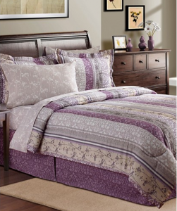 Trend Norwood Piece Reversible Bedding Sets
