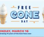free DQ ice cream