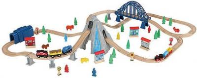 Walmart: 100-Piece Rocky Mountain Wooden Train Set $33