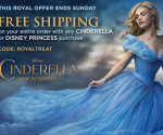 Disney Store Princess Promo: Princess or Cinderella Items Ship Free = Deals from $4 (Exp. 3/15)