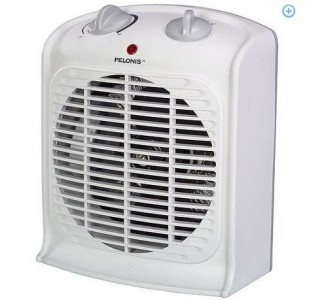 Walmart Pelonis Fan Forced Heater W Thermostat 10