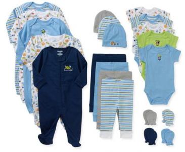 9772450673008 Garanimals Newborn Baby Boy Perfect Shower Gift 21 Piece Set – $34
