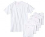 Target: 18-ct. Hanes Men's V-Neck T-Shirts $28.98 + Free Shipping