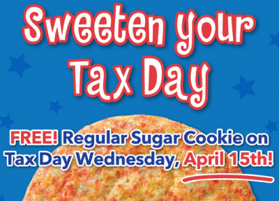 picture relating to Famous Dave's Printable Coupons referred to as Tax Working day Freebies 2015