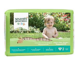 photograph about Seventh Generation Printable Coupons named Printable Coupon codes: 7th Production Diapers, Destination Shot