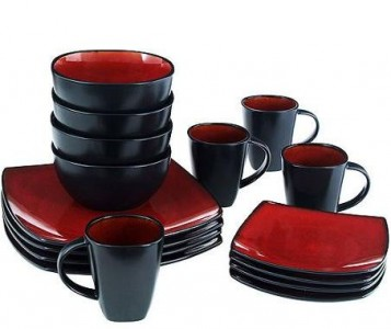 dinnerware set  sc 1 st  Pocket Your Dollars & Walmart: Gibson Home Soho 16-pc. Dinnerware Set $29.96