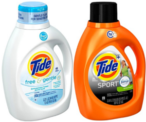 through 613 youu0027ll get two bottles of either 69 oz tide sport febreze active fresh scent he liquid laundry detergent
