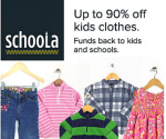 Schoola Sale: 50% Off Sitewide + Free Shipping (Exp. 6/30)