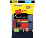 Hanes Men's TAGLESS Boxer Briefs with ComfortSoft Waistband 6-ct. $14.99 + Free Shipping Sitewide