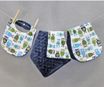 Baby Bundle Set: Blankee, Burpee, and Bib for $20 + Free Shipping From Bebe Bella Designs (Exp. 6/10)