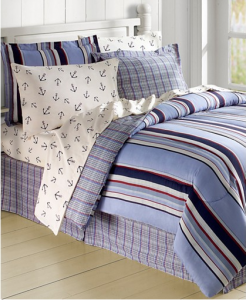 Awesome The Anchor us Aweigh Piece Reversible Bedding Ensemble is regularly u that us off