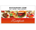 $25 Restaurant.com Certificate for $4.25 (Exp. 7/21)