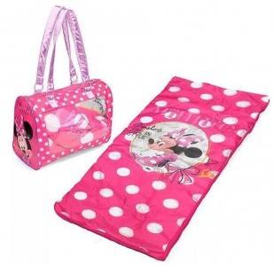 Lovely toddler sleeping bags This Disney Minnie Mouse Toddler Sleepover Set