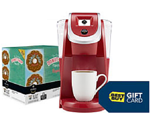 Best Buy Keurig Deal: Keurig 2.0 + 3 Karafe Pod Packs + 48 K-cups $72.99 After Gift Card + Free Shipping
