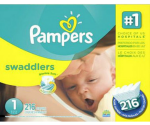 Amazon Pampers Deal: $5 Off Select Pampers + 20% Off & Free Shipping for Amazon Mom Members
