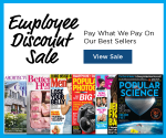 DiscountMags Employee Discount Sale: Get Some of the Best Magazines Deals of the Year (Exp. 8/16)