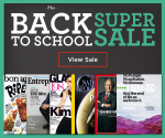 DiscountMags Sale: Back to School Magazine Sale (Exp. 8/9/15)