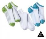 Tanga: 12-Pack Pro Spirit Women's No-Show Ankle Socks $11.99 + Free Shipping