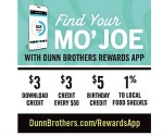 Freebies: Free Dunn Brothers $5 Credit, Free Pampers Points + More
