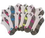 Tanga: 12 Pairs of Women's Fila No-Show Moisture-Wicking Socks $12.99 (Exp. 9/18)