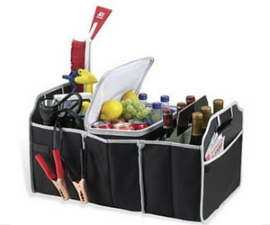 Collapsible 3-Section Car Trunk Organizer for $5.49 Shipped