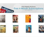 Freebies: Free Magazine Subscriptions with Amazon Prime, Free Babies R Us Halloween Event + More