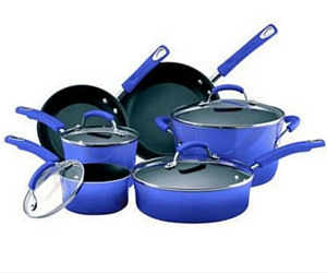 JCPenney: Rachael Ray 10-Piece Porcelain Cookware Set $91.94 Shipped After Rebate (Exp. 10/5)