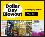 DiscountMags Dollar Day Blowout Sale (Exp. 10/18)