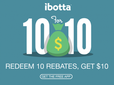 Ibotta $10 Welcome Bonus for New Users