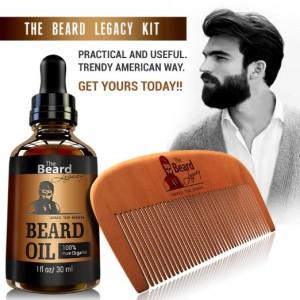 Beard Comb Bundle Kit