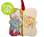 York Photo: Custom Ornaments from $4.99 for New Customers (Exp. 11/21)