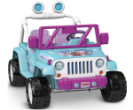 Amazon: Power Wheels Disney Frozen Jeep Wrangler $199 + Free Shipping ($100 Off)