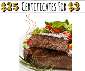 $25 Restaurant.com Certificates for $3 = Best Deal of the Year (Exp. 12/7)