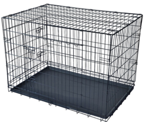 Folding Wire Dog Crates from $19.99 + Free Shipping