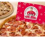 Groupon: $25 Papa John's Gift Card + 2 Pizzas for $25