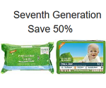 Amazon Prime Members Discount: Save 50% On Select Seventh Generation Diapers, Wipes, & Household Items
