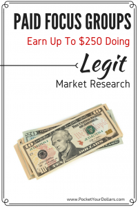 Paid Focus Groups: Earn $50-$250 Doing Legit Market Research