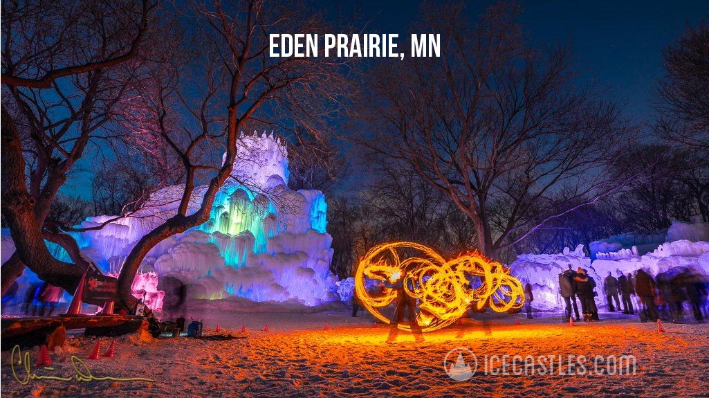 best ice castles mn discount tickets for 2016 - Purple Castle 2016