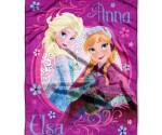 "Amazon: Cute Disney ""Frozen"" Loving Sisters Throw for $9"