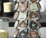 Super Highly Rated K-Cup Carousel (Holds 35 K-Cups) for $11