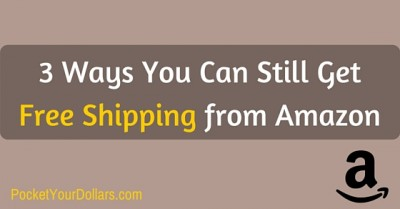 3 Ways You Can Still Get Free Shipping from Amazon