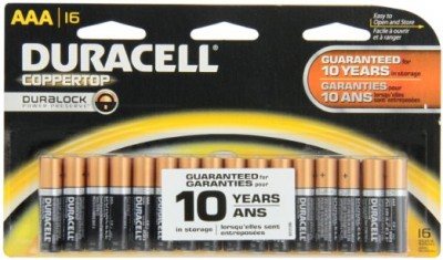 $0.01 (After Rewards) Duracell Batteries AA or AAA 16-pk. + Free Store Pickup